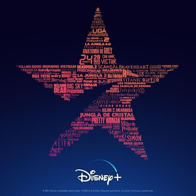 Disney presentó los contenidos del catálogo de Star