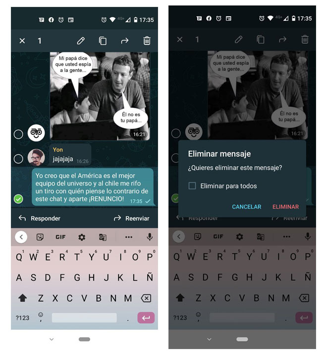 Eliminar mensajes sin dejar rastro en Telegram