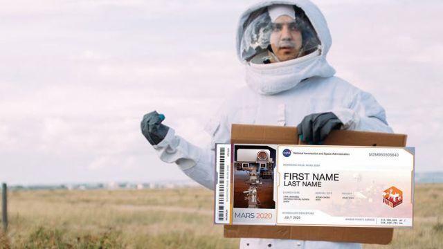 Envía tu nombre a Marte para la segunda misión del Rover