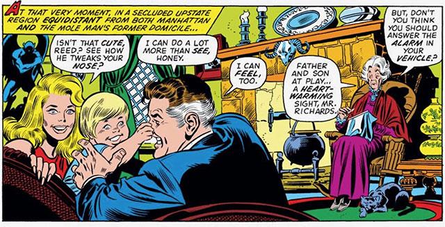 Agatha Harkness, Fantastic Four #140