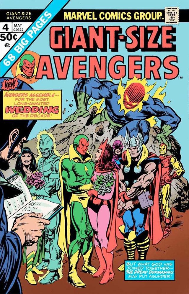 Boda Vision wanda Avengers
