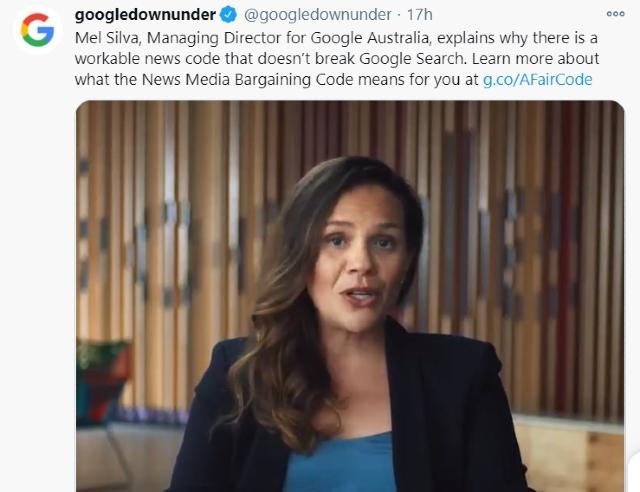 Google amenaza a Australia con bloquear su servicio