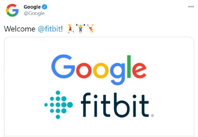 Google anuncia la compra de Fitbit por 2,100 millones de dólares