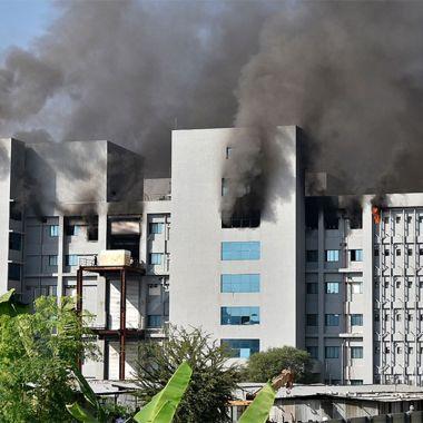Incendio fabrica de Vacunas Covid 19