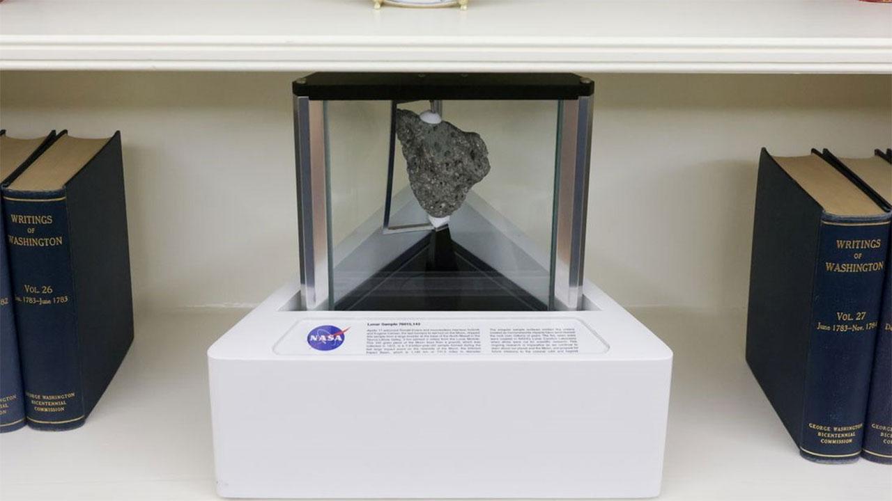 Joe Biden NASA ROca Lunar