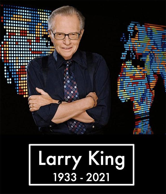 Larry King, murió a la edad de 87
