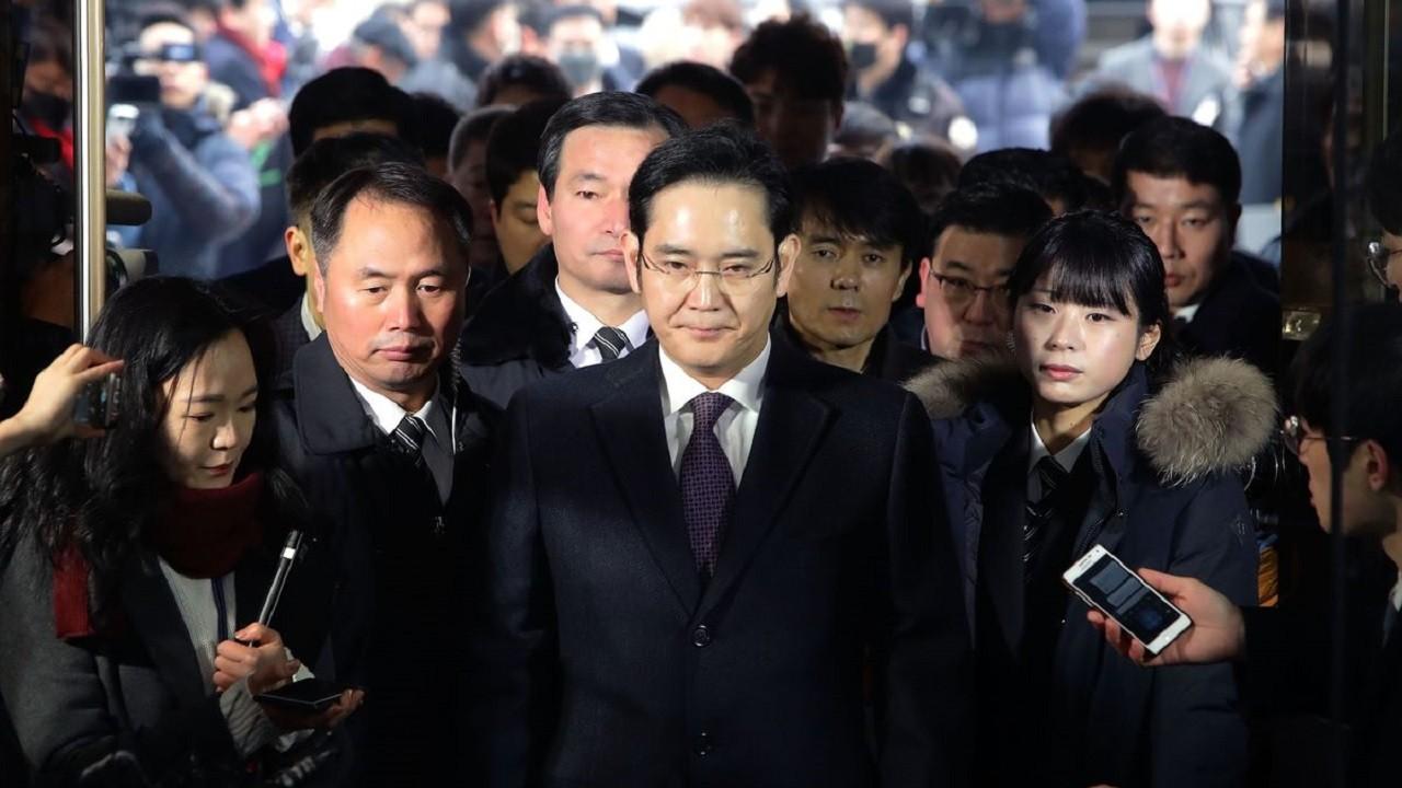Heredero de Samsung Lee Jae-yong
