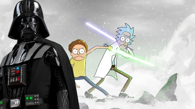 Darth Vader Rick and Morty