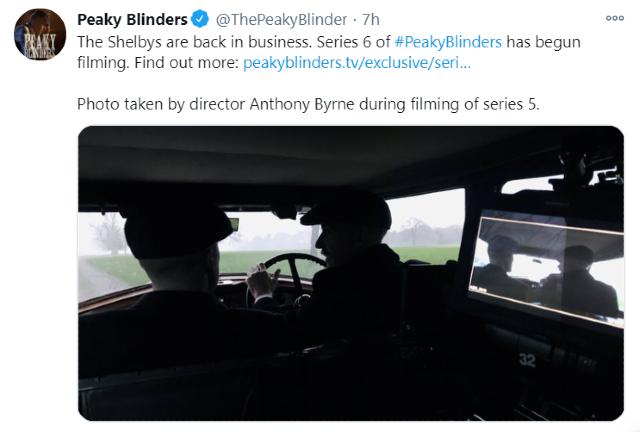 Peaky Blinders llegará a su fin con la sexta temporada