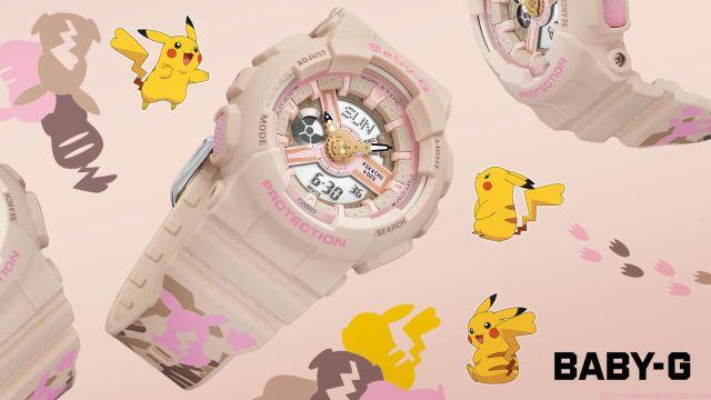 Pokémon y Casio presentan el reloj de Pikachu