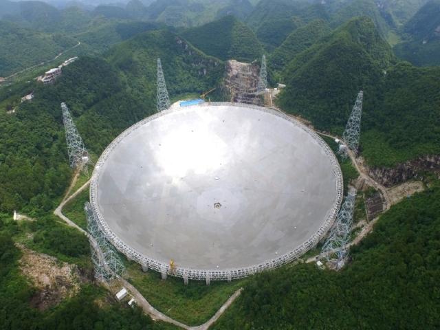 Telescopio FAST estará abierto a científicos extranjeros