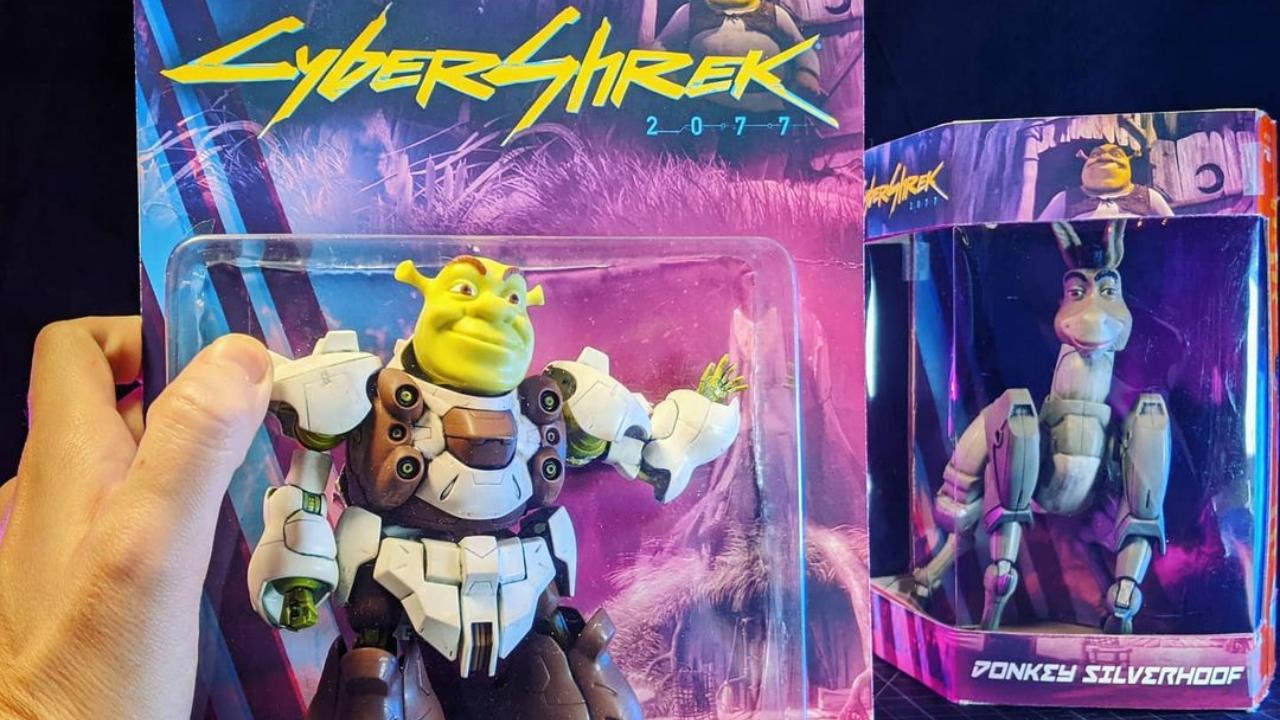 CyberShrek 2077 cuál es su origen