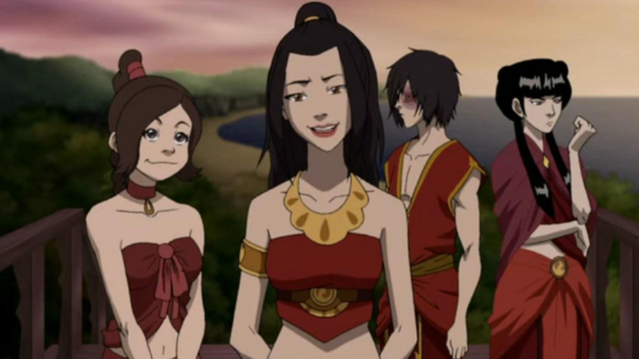 Avatar: Chica recrea uno de los atuendos más icónicos de la princesa Azula