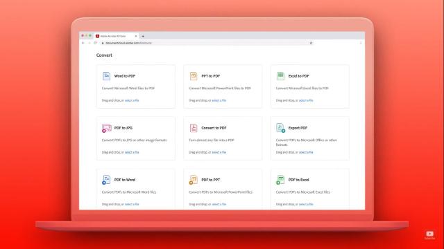 Adobe lanza herramientas gratuitas para PDF