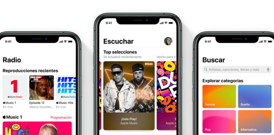Apple Music descarta ofrecer un modo gratuito