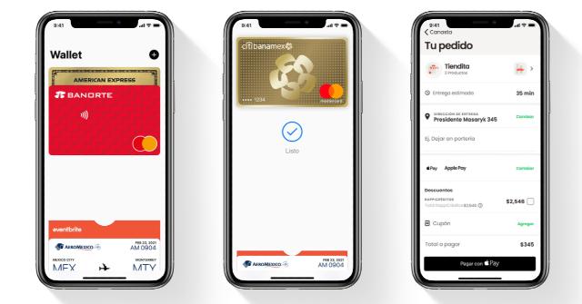 Apple Pay ya está disponible en México