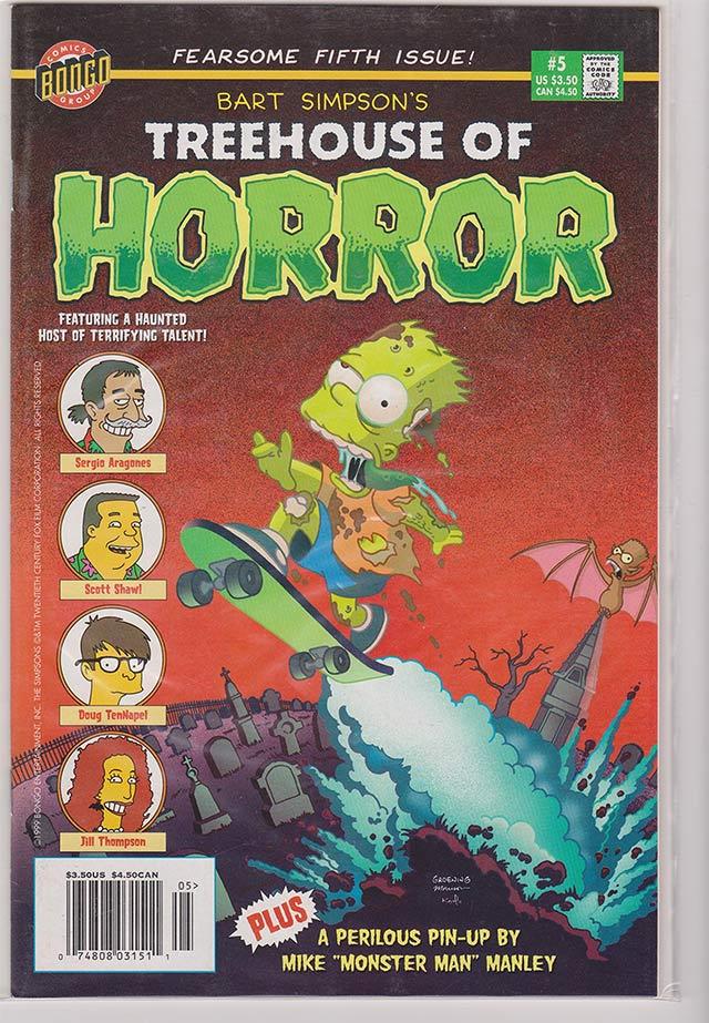 Bart Simpson's Treehouse of Horror #5