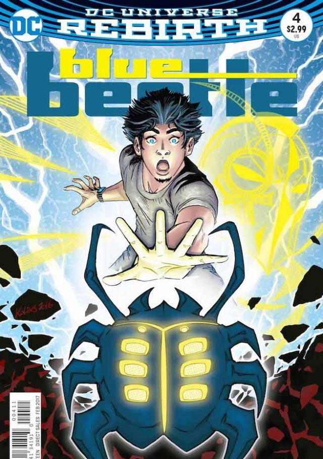Blue Beetle tendrá una película dirigida por Angel Manuel Soto