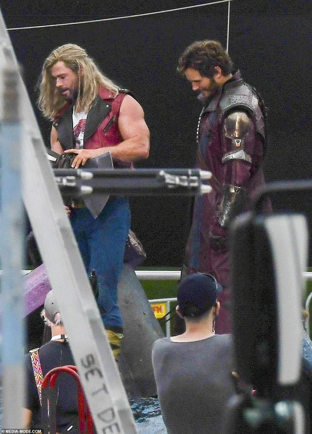 Nueva imágenes Thor Love and Thunder