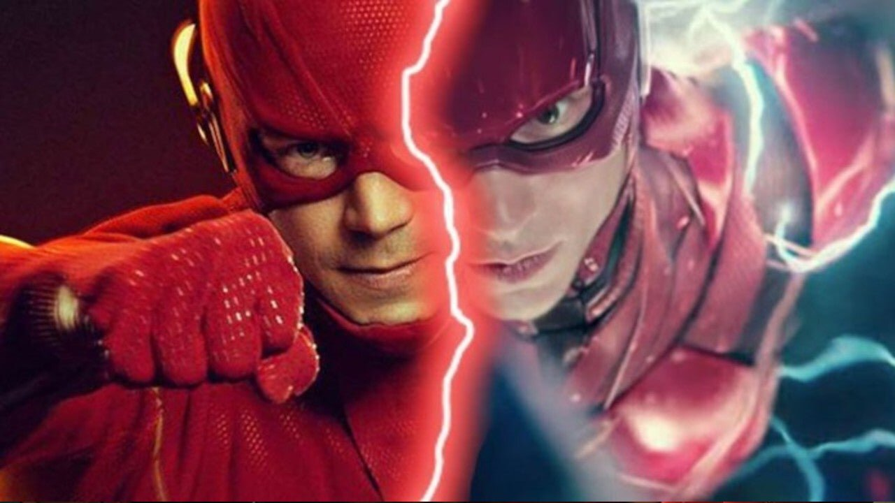 flash barry allen crossover dc