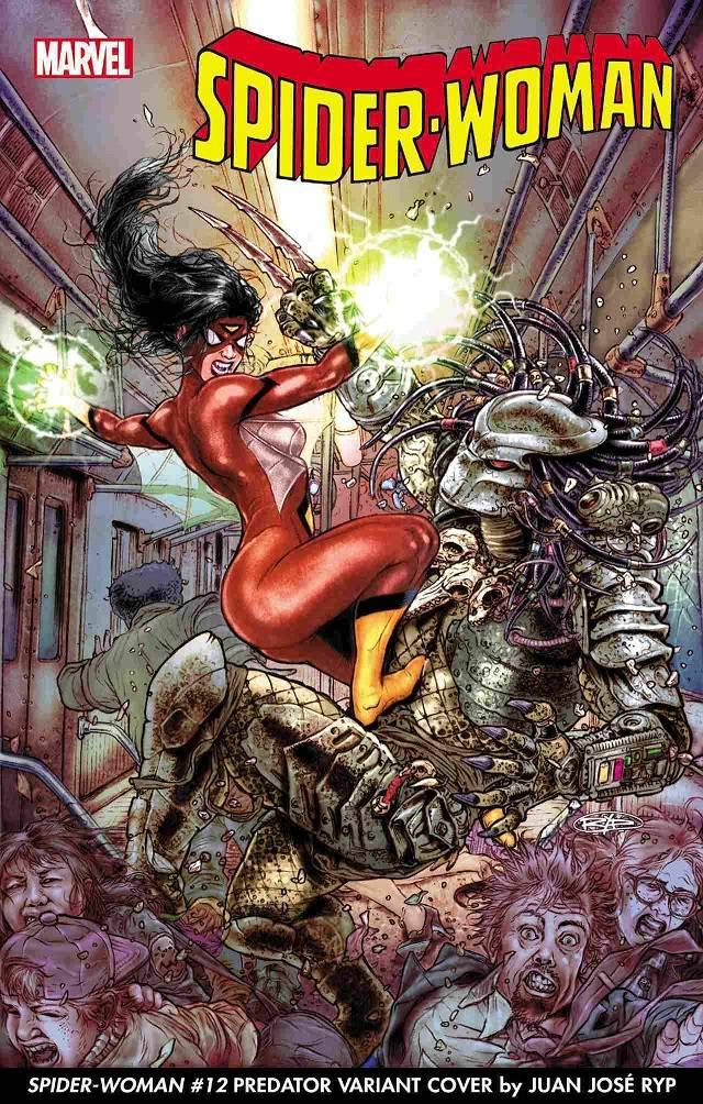 Depredador contra Spider Woman
