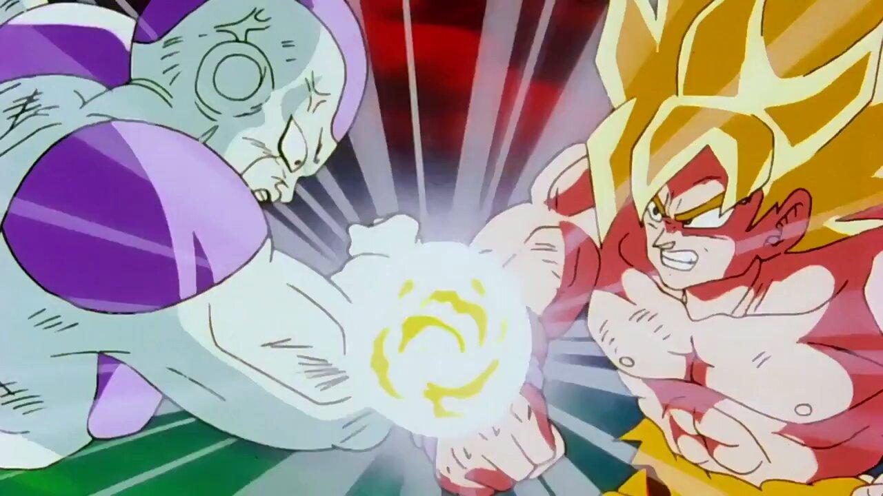 freezer goku pelea dragon ball