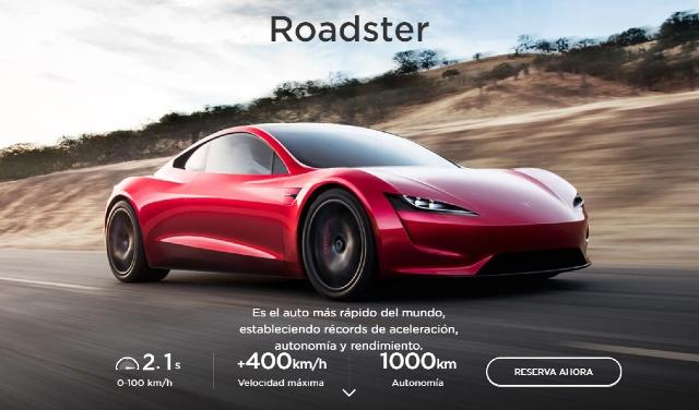 Elon Musk quiere que el Tesla Roadster flote