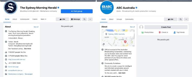 Facebook cumplió su amenaza de bloquear las noticias en Australia