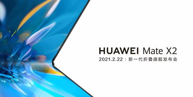 Huawei presentará el Mate X2 a finales de febrero