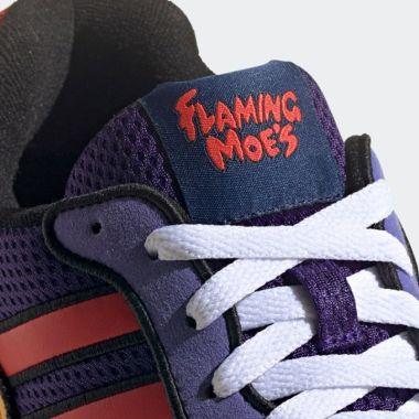 Adidas presentó sus nuevos tenis de Flaming Moe's