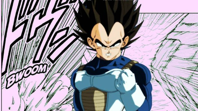 Vegeta Manga Dragon Ball Super