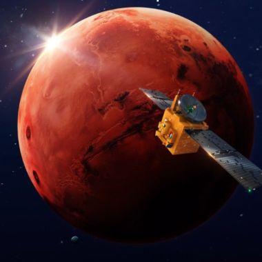 La misión Hope Mars entró a la órbita de Marte
