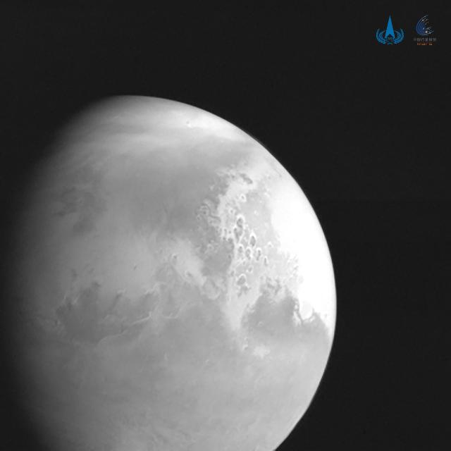 Tianwen-1 de China captó las primeras imágenes de Marte