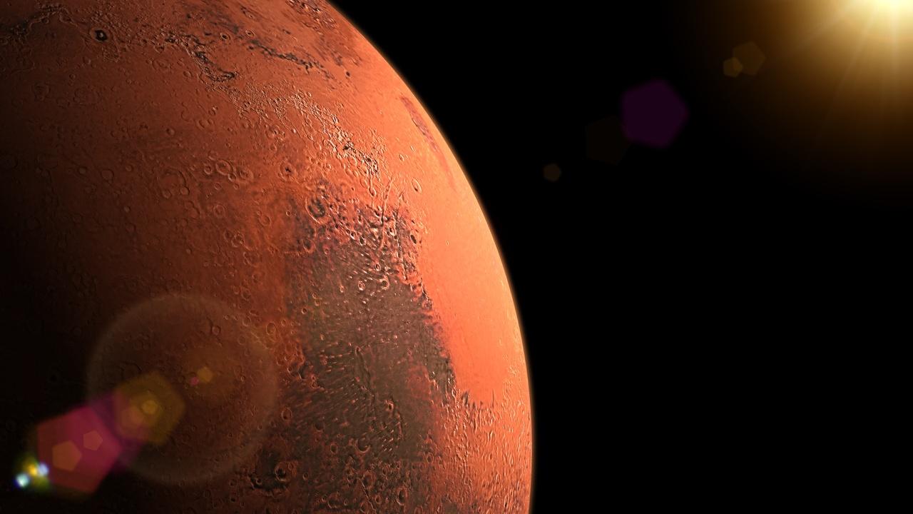 Tianwen-1 de China captó los cráteres de Marte