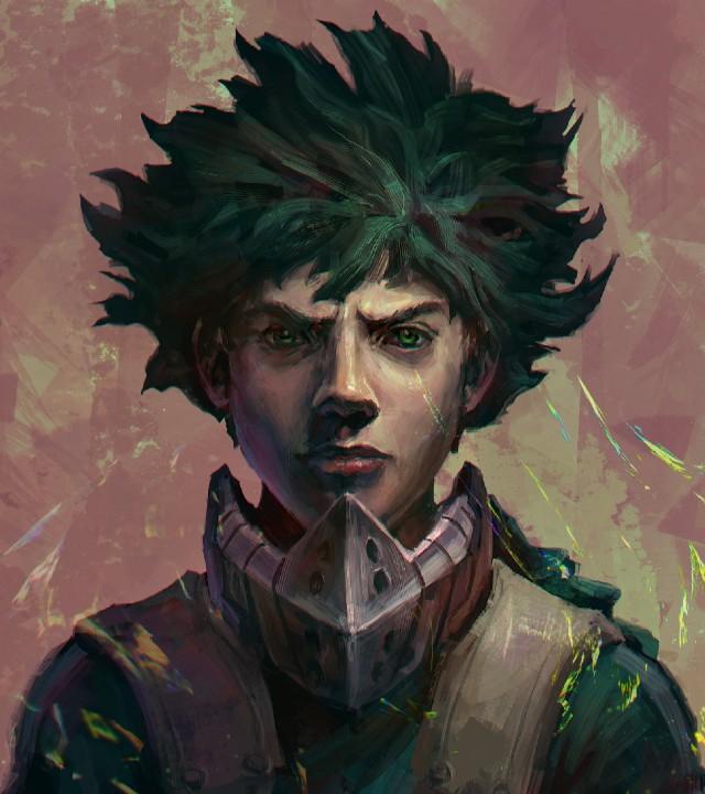 My Hero Academia_ Artista recrea a Deku dándole un aspecto más realista