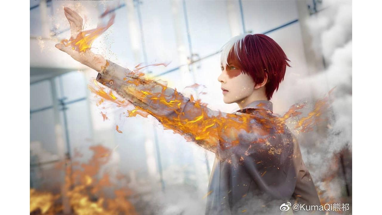 My Hero Academia: Cosplayer le da vida al poderoso Shoto Todoroki