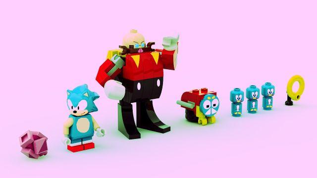 Set de Lego de Sonic the Hedgehog