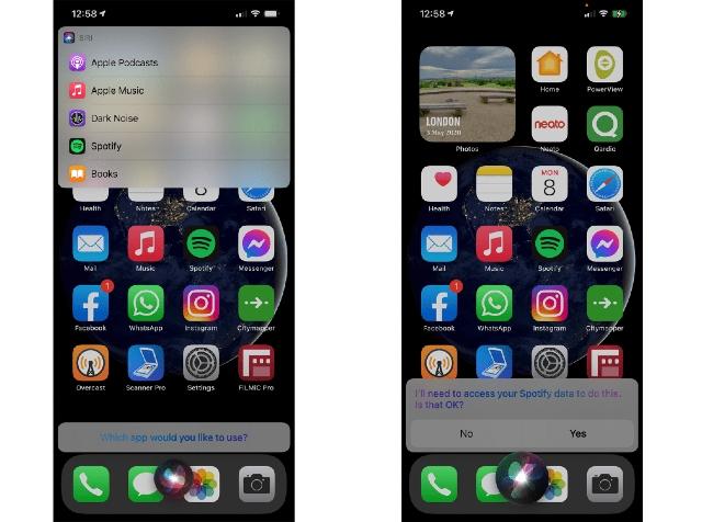 Spotify ya puede usarse como reproductor por defecto en iPhone