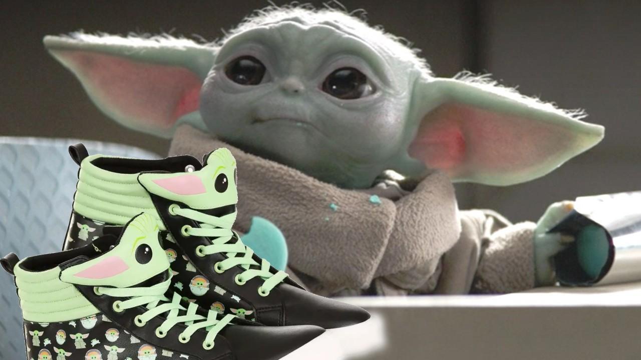 Star Wars: NECESITAMOS estos tenis de Baby Yoda