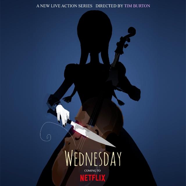 Tim Burton dirigirá la serie de Merlina para Netflix