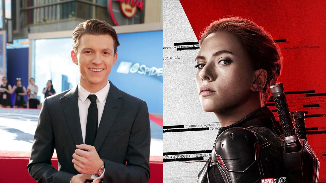 Marvel prohibió a Tom Holland ver Black Widow