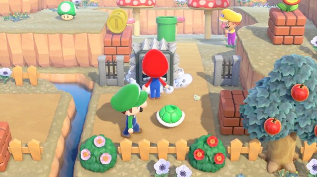 Super Mario llega a Animal Crossing