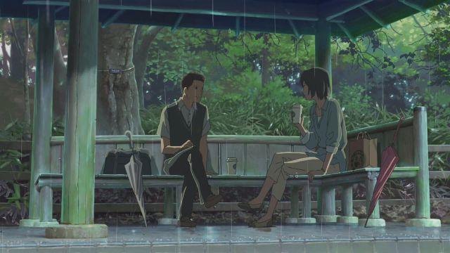 el jardin de las palabras makoto shinkai