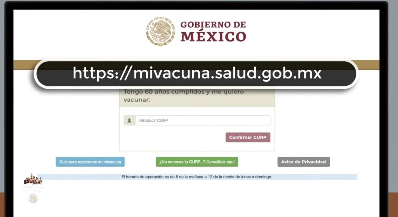 mivacuna sitio web
