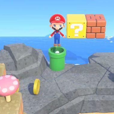 Super Mario y Animal Crossing