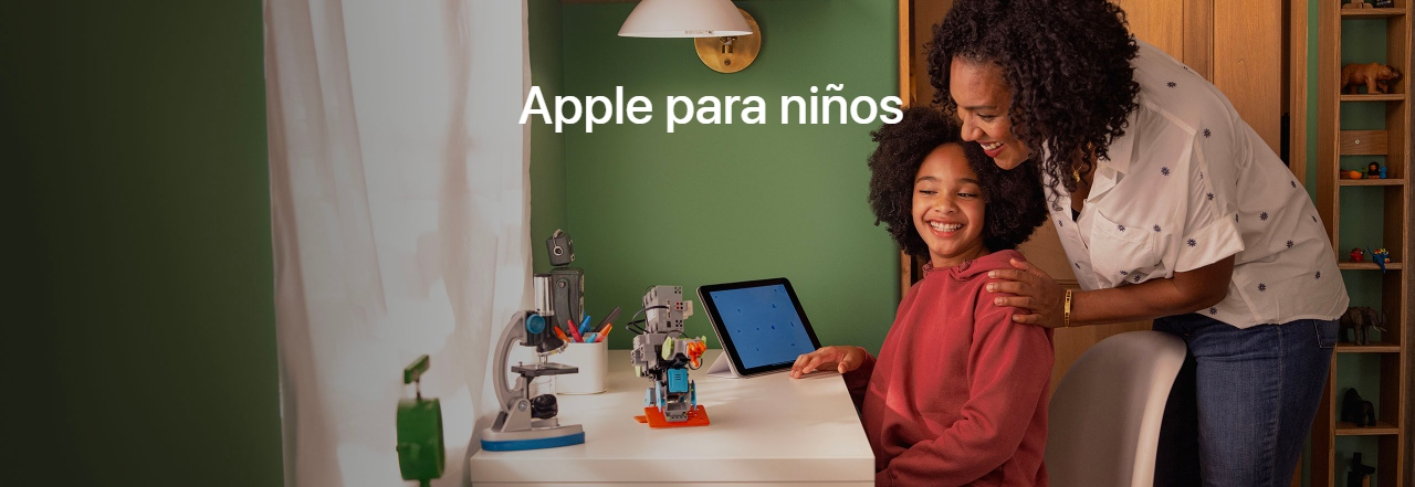 Apple lanzó una guía para configurar dispositivos de niños
