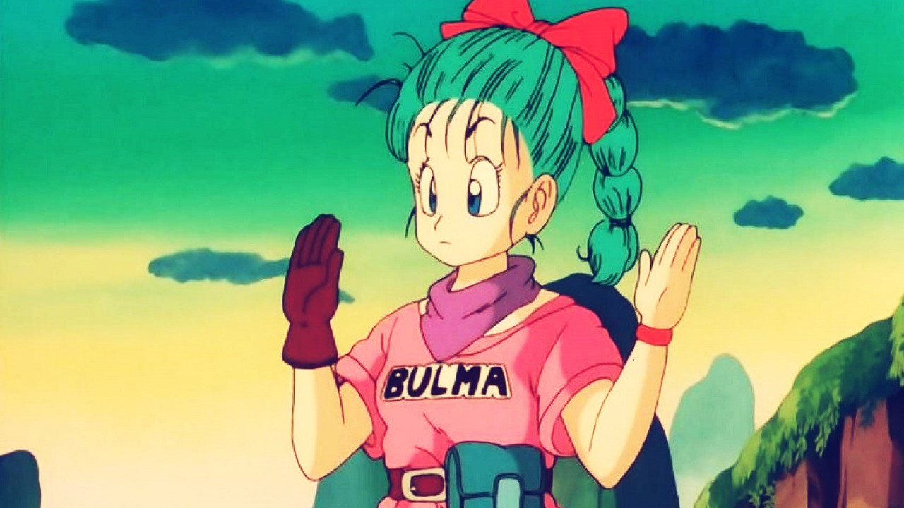 Bulma en los inicios de Dragon Ball
