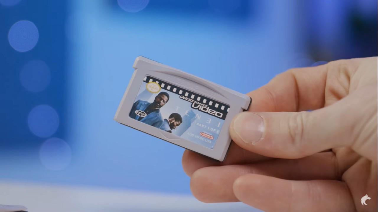 Tenet Película Christopher Nolan Cartucho  Game Boy Advance