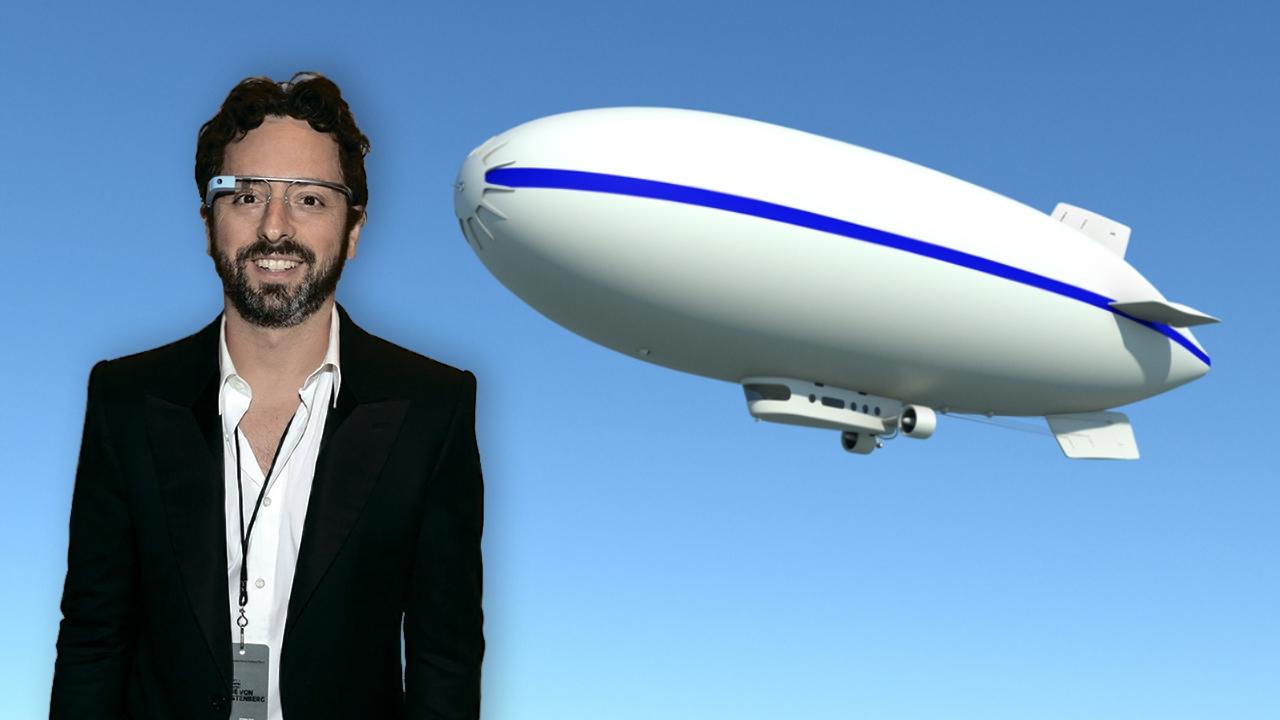 Cofundador de Google desarrolla su propio dirigible