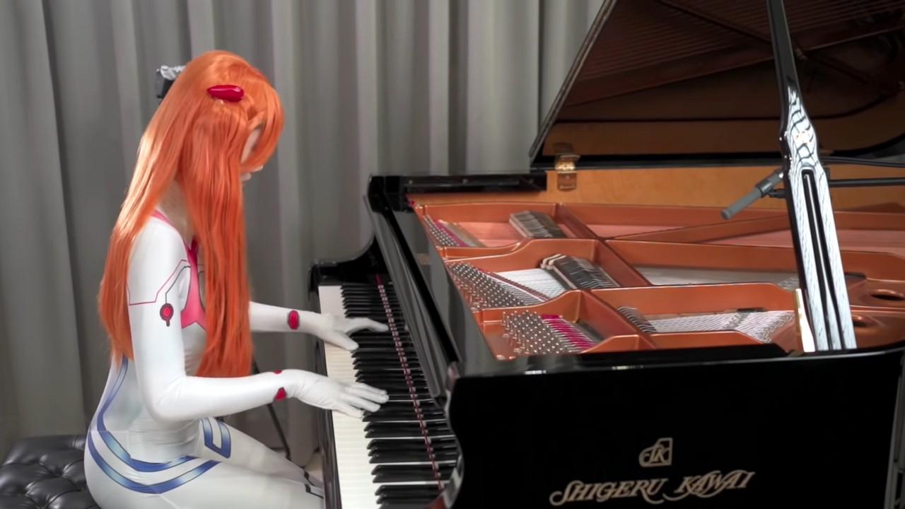 Evangelion One Last Kiss Cosplat Asuka Langley Anime